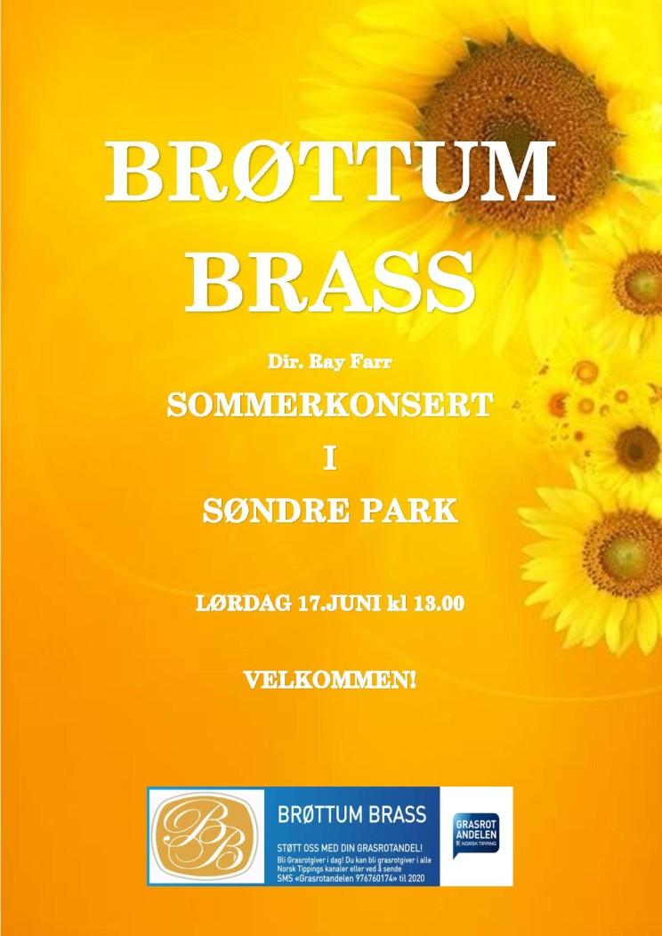 Konsert Søndre Park 17. juni